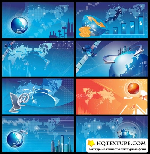 Business technology backgrounds 2