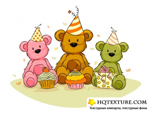 Toy Bear greeting cards