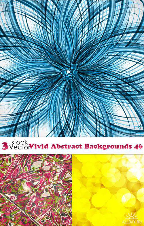 Vectors - Vivid Abstract Backgrounds 46
