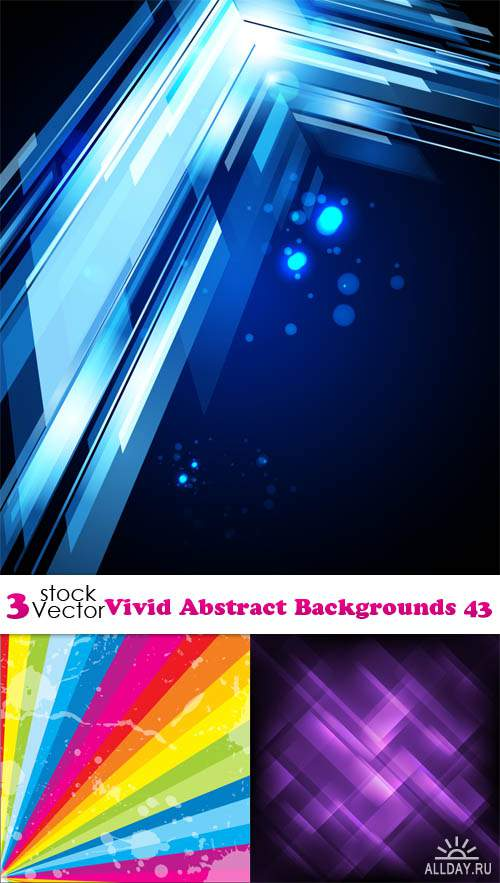 Vectors - Vivid Abstract Backgrounds 43