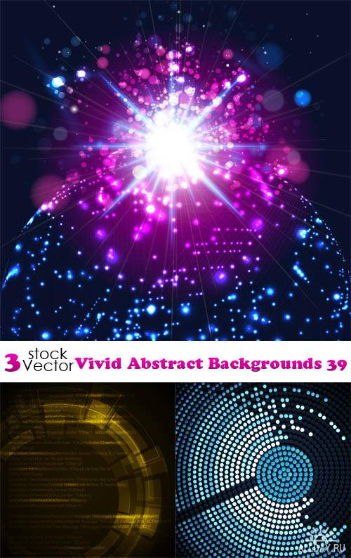 Vectors - Vivid Abstract Backgrounds 39