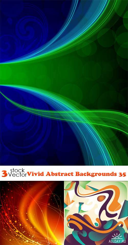 Vectors - Vivid Abstract Backgrounds 35