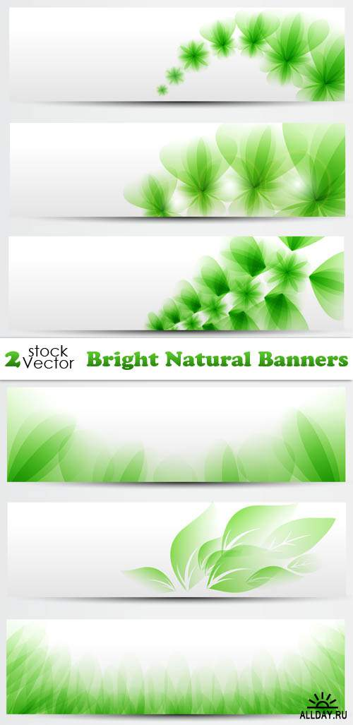 Vectors - Bright Natural Banners