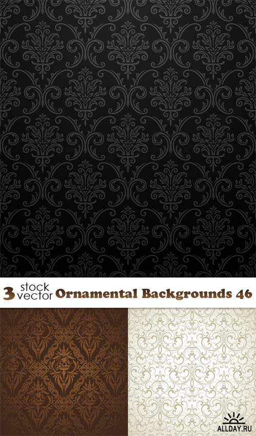 Vectors - Ornamental Backgrounds 46