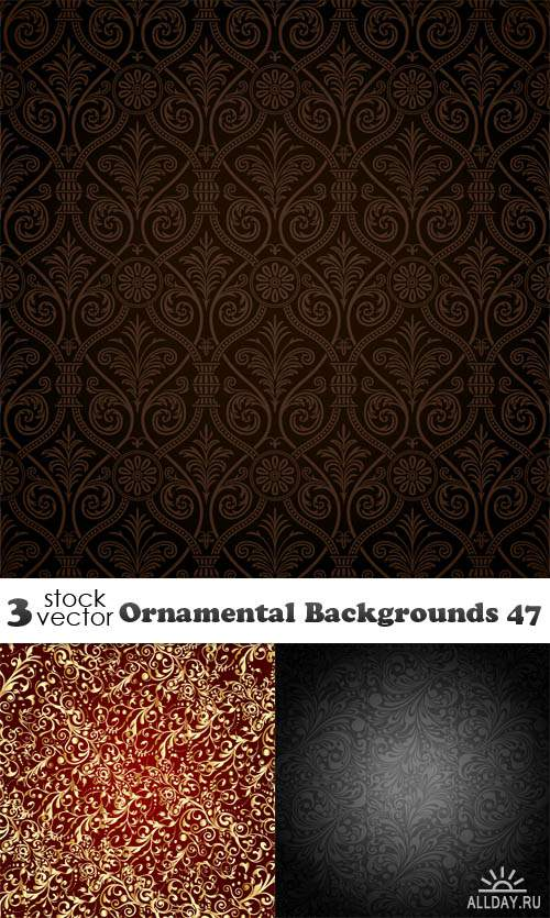 Vectors - Ornamental Backgrounds 47