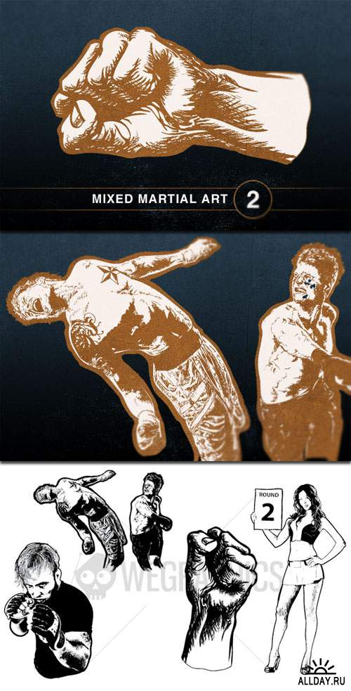 WeGraphics - Mixed Martial Art Vol2