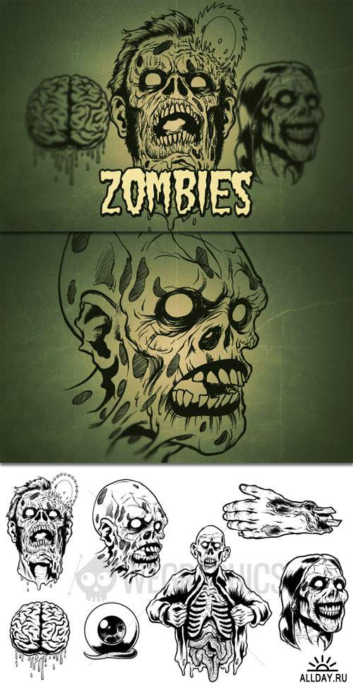 WeGraphics - Zombies Vol1