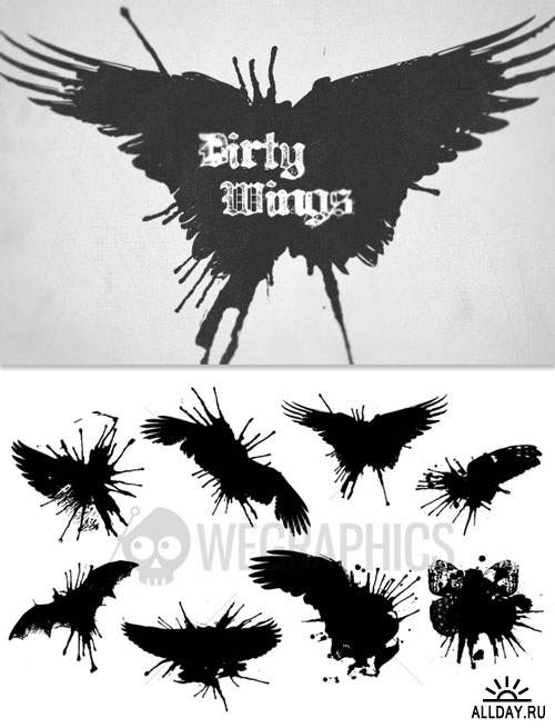 WeGraphics - Dirty Wings
