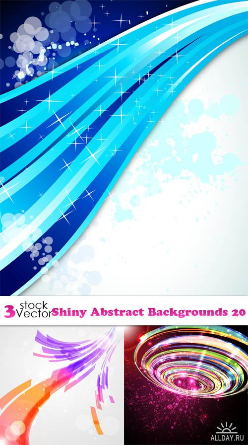 Vectors - Shiny Abstract Backgrounds 20