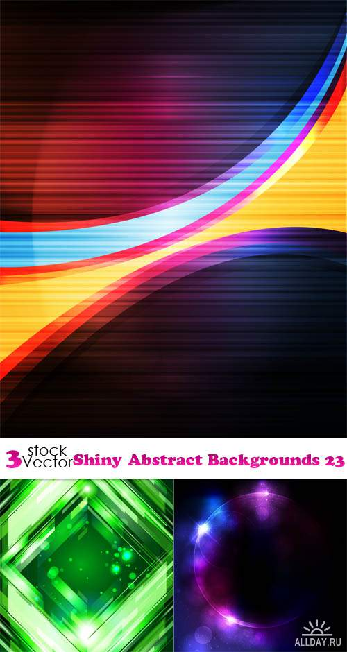 Vectors - Shiny Abstract Backgrounds 23
