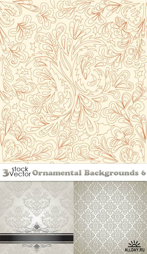 Vectors - Ornamental Backgrounds 6