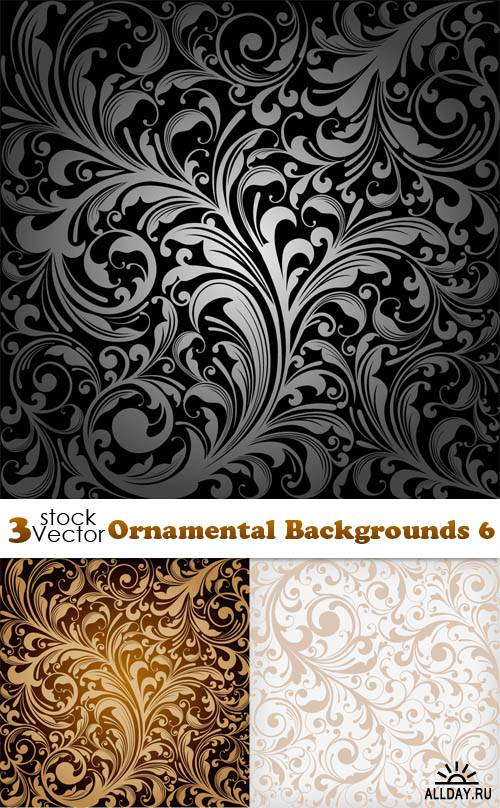Vectors - Ornamental Backgrounds 7