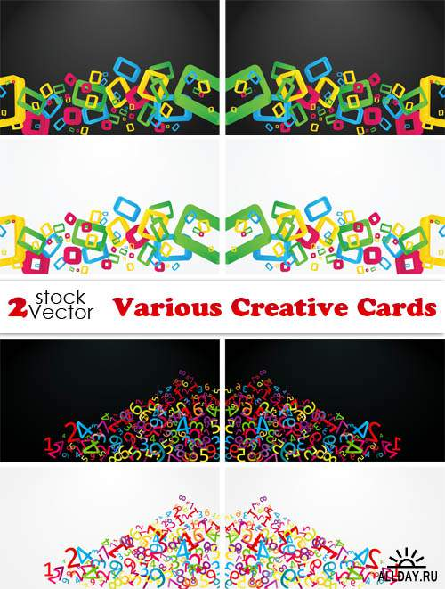 Vectors - Various Creative Cards