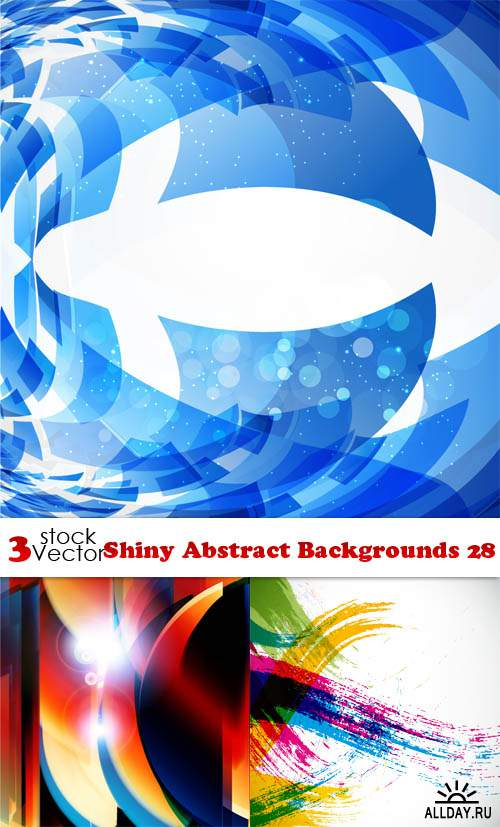 Vectors - Shiny Abstract Backgrounds 28