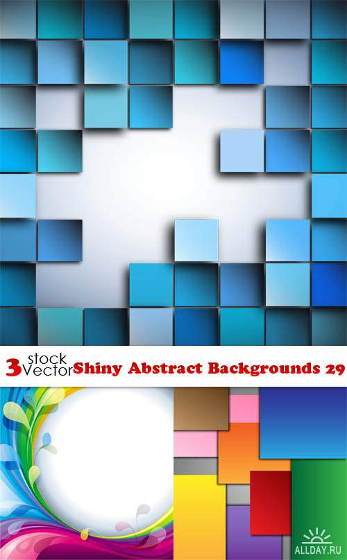 Vectors - Shiny Abstract Backgrounds 29