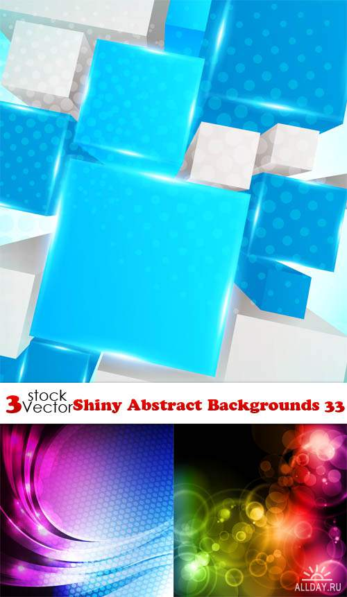Vectors - Shiny Abstract Backgrounds 33