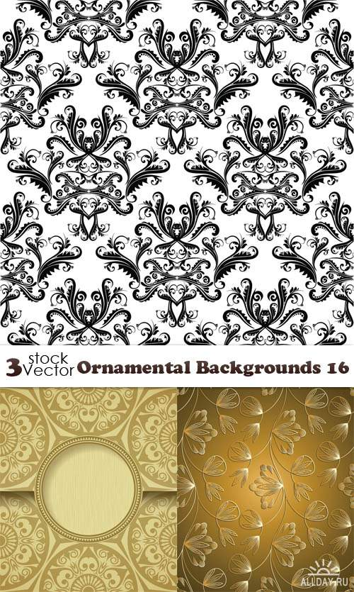 Vectors - Ornamental Backgrounds 16
