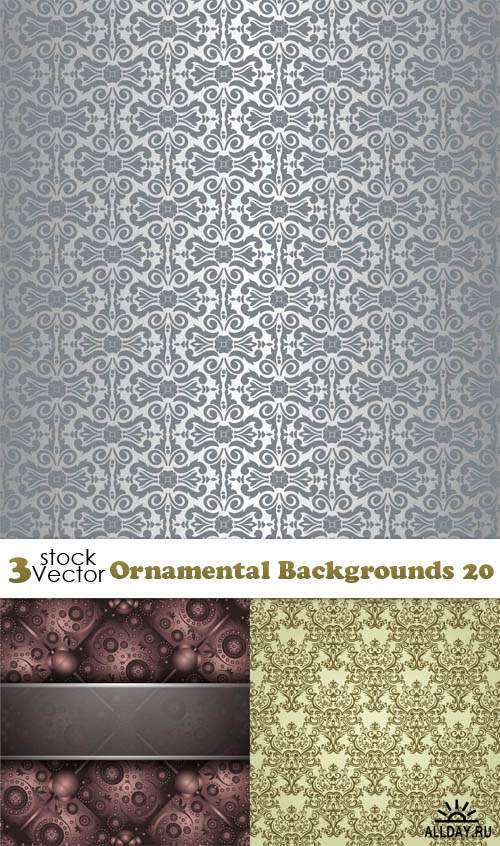 Vectors - Ornamental Backgrounds 20