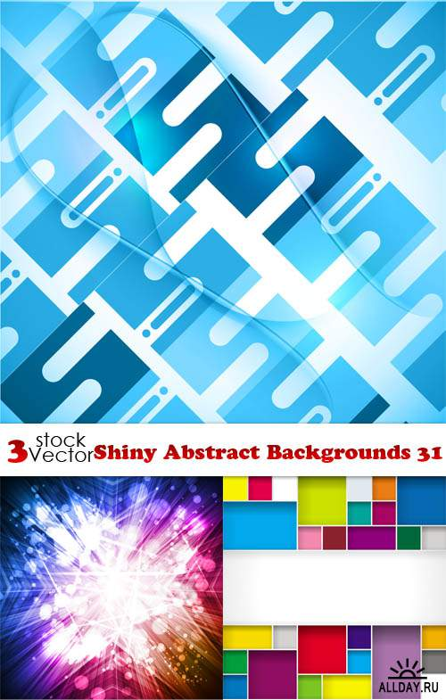 Vectors - Shiny Abstract Backgrounds 31