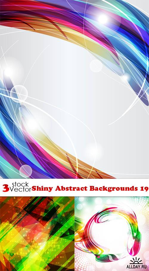 Vectors - Shiny Abstract Backgrounds 19