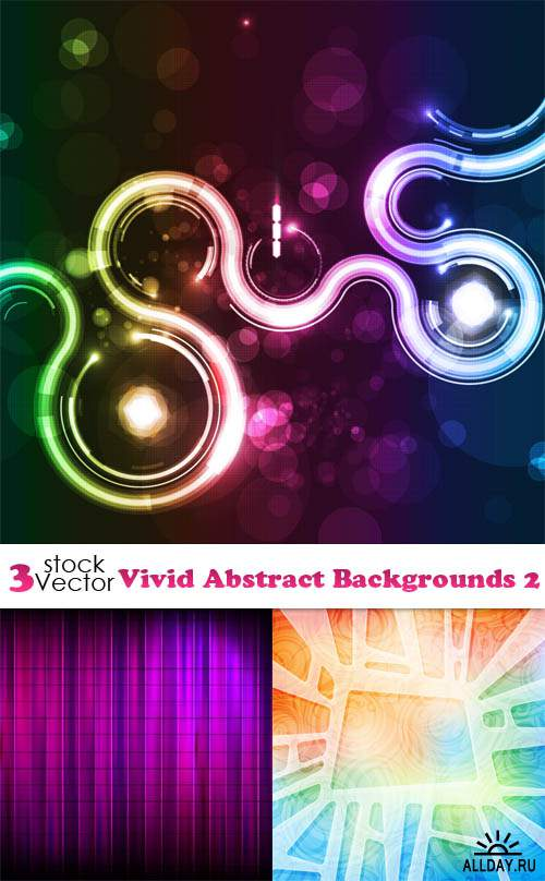 Vectors - Vivid Abstract Backgrounds 2
