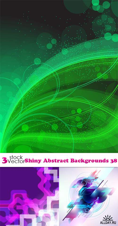 Vectors - Shiny Abstract Backgrounds 38