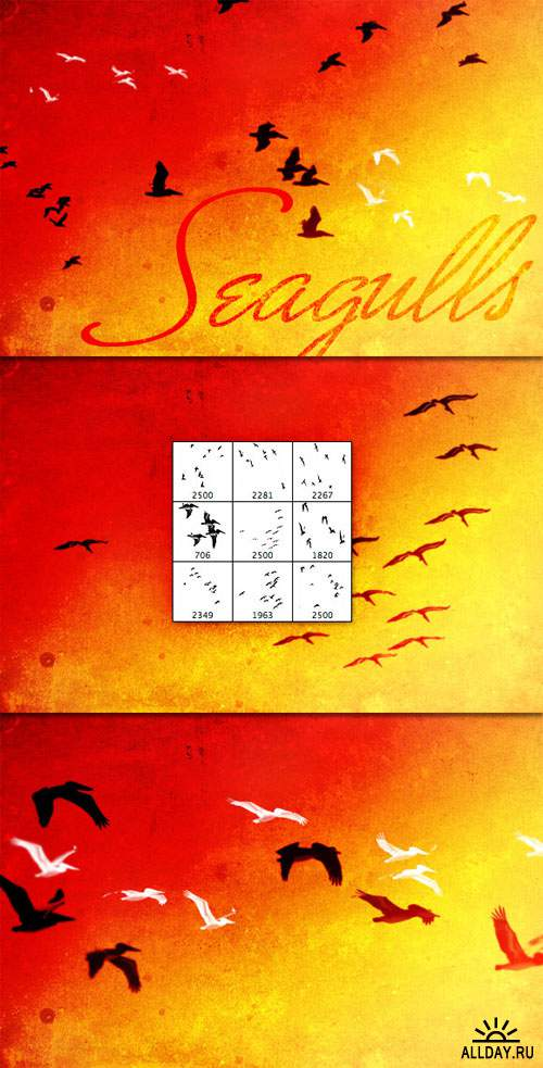 WeGraphics - Flock of Seagulls