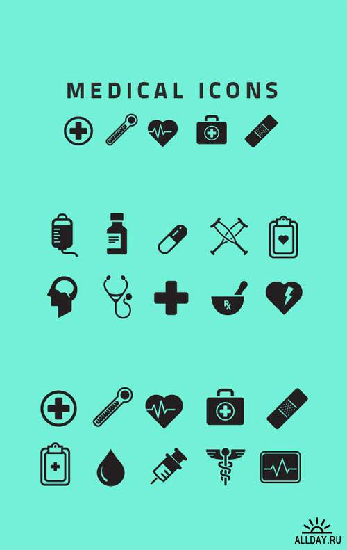 WeGraphics - Vector Medical Icons