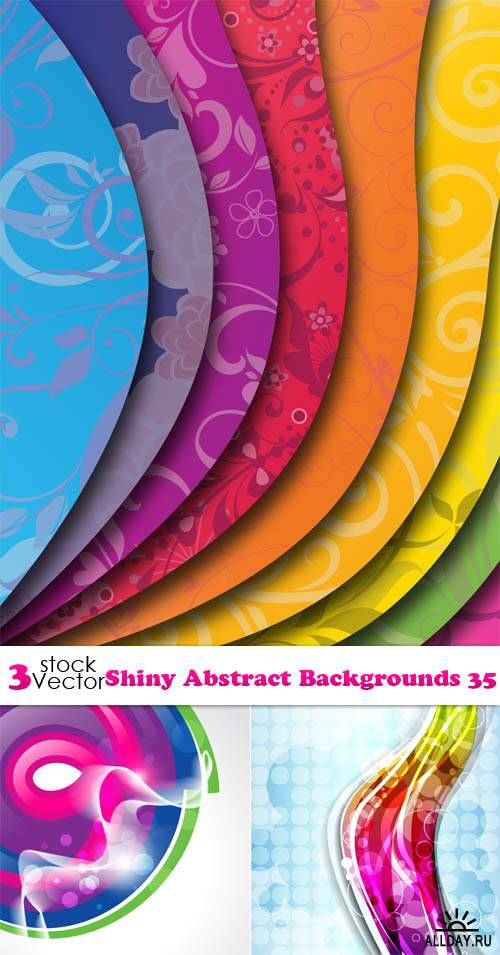 Vectors - Shiny Abstract Backgrounds 35