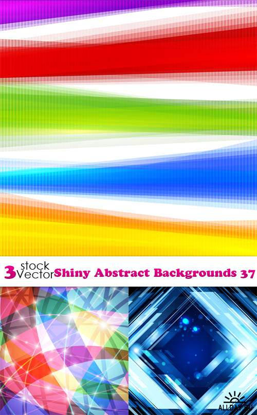 Vectors - Shiny Abstract Backgrounds 37