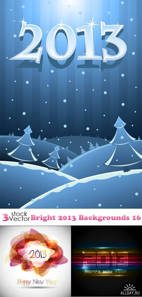 Vectors - Bright 2013 Backgrounds 16