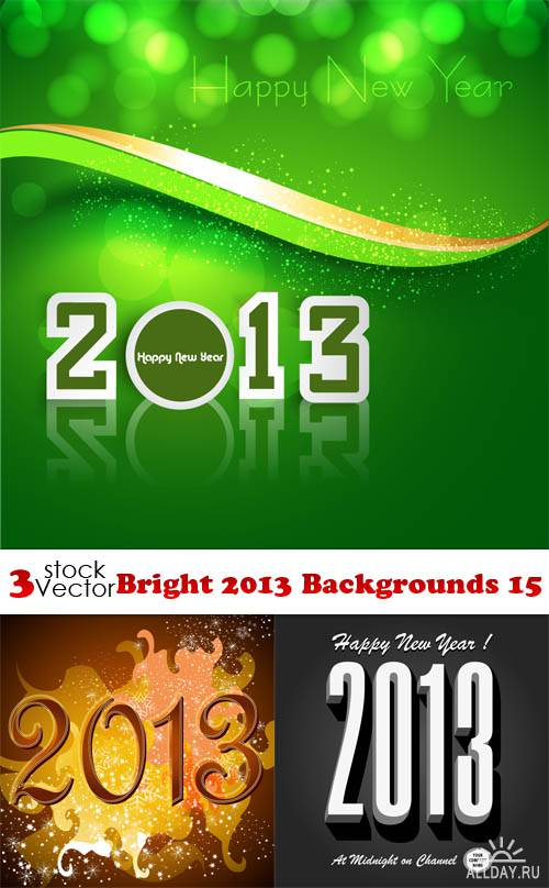 Vectors - Bright 2013 Backgrounds 15