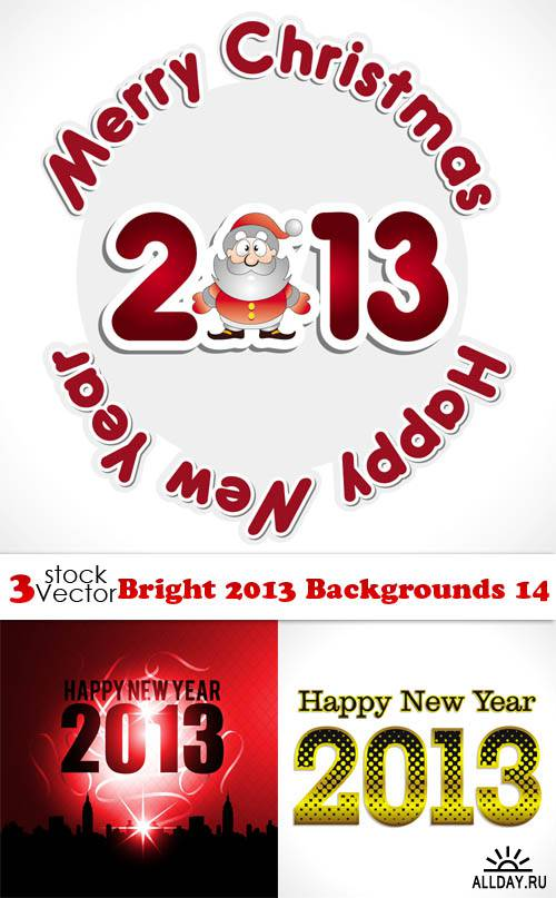 Vectors - Bright 2013 Backgrounds 14