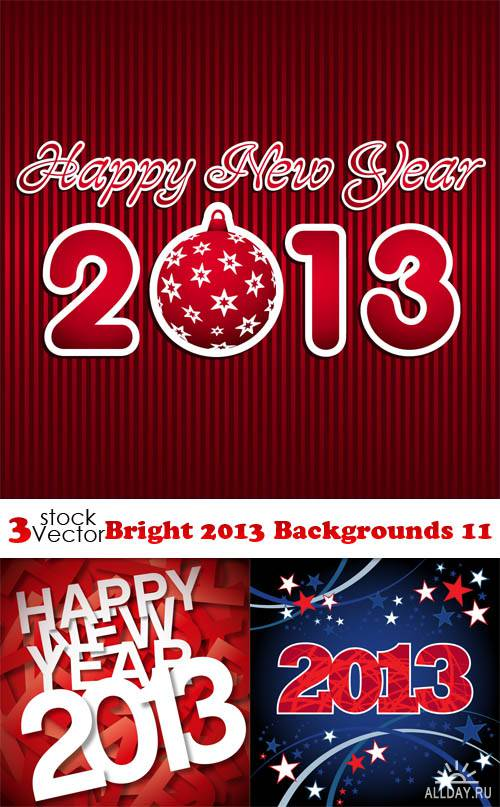 Vectors - Bright 2013 Backgrounds 11