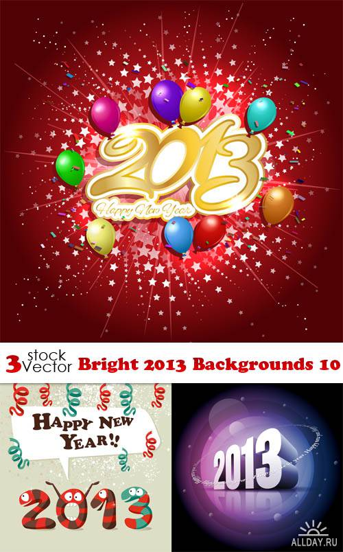 Vectors - Bright 2013 Backgrounds 10