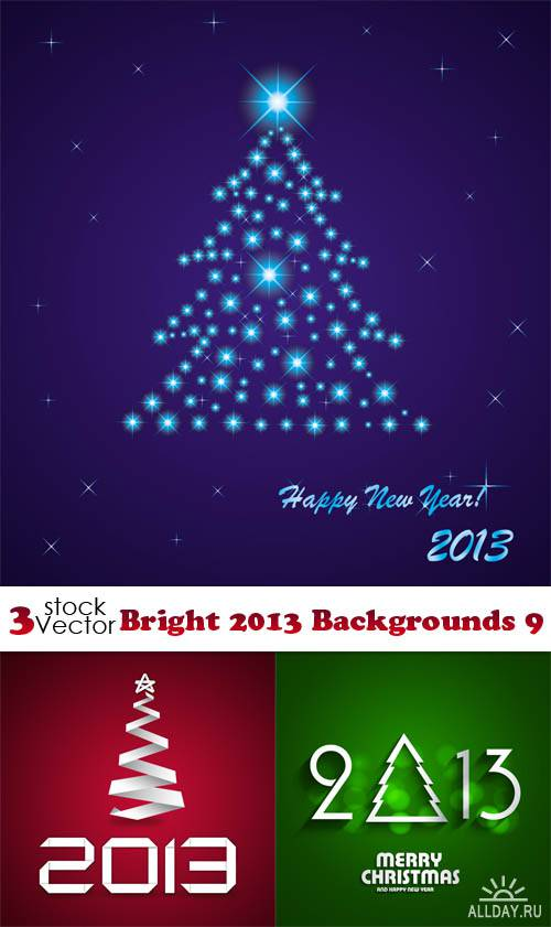 Vectors - Bright 2013 Backgrounds 9