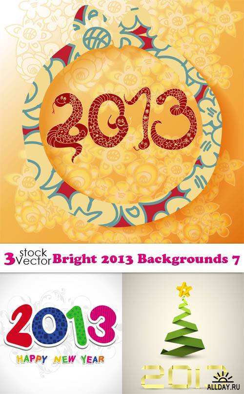 Vectors - Bright 2013 Backgrounds 7