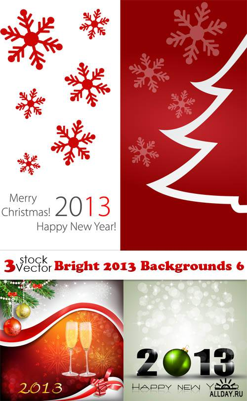 Vectors - Bright 2013 Backgrounds 6