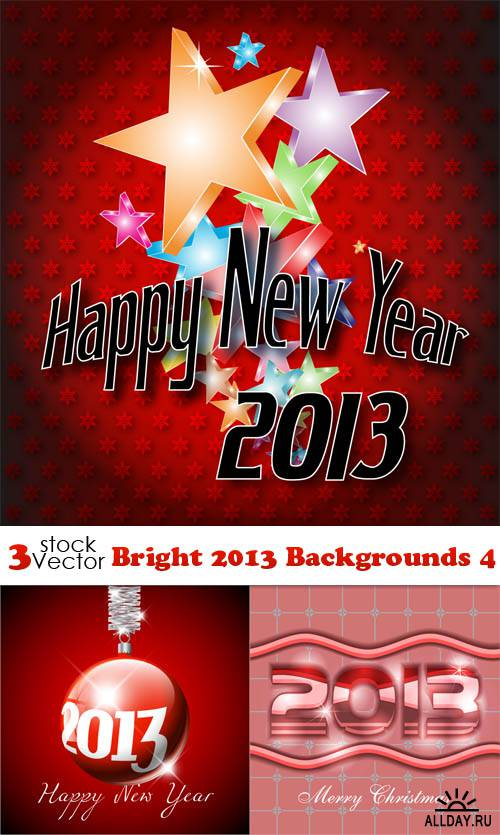 Vectors - Bright 2013 Backgrounds 4