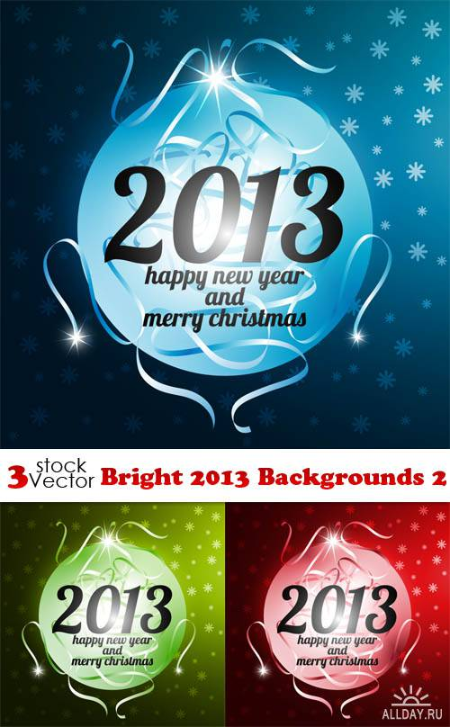 Vectors - Bright 2013 Backgrounds 2