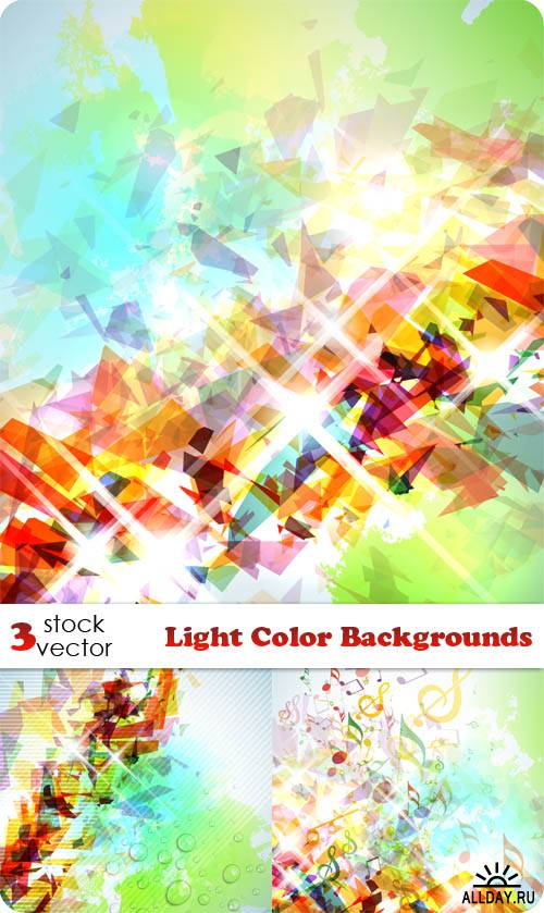 ��������� ������� - Light Color Backgrounds