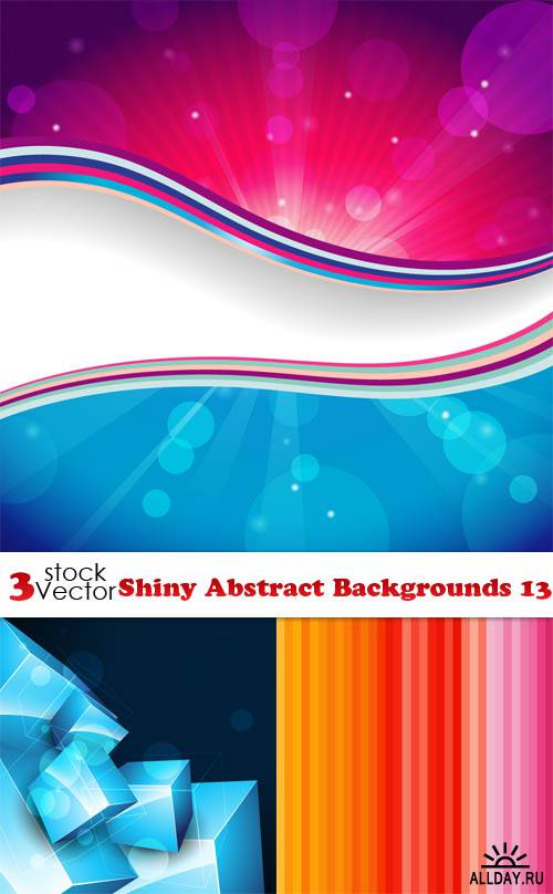 Vectors - Shiny Abstract Backgrounds 13