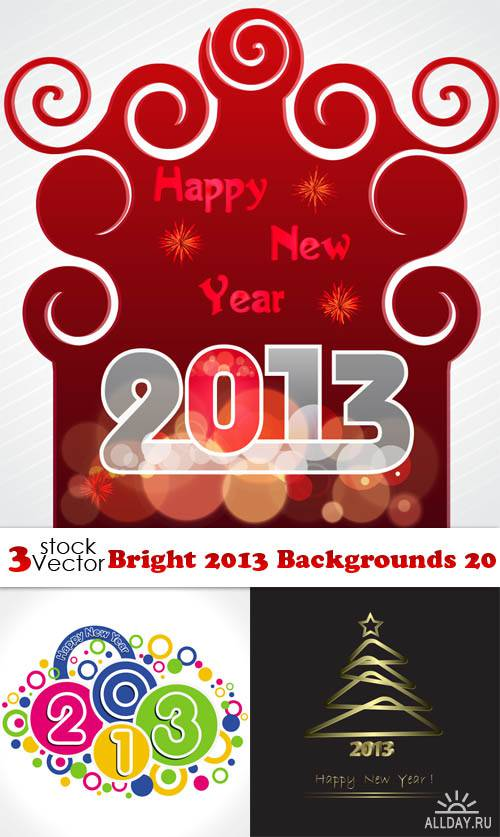 Vectors - Bright 2013 Backgrounds 20