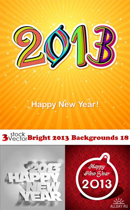 Vectors - Bright 2013 Backgrounds 19