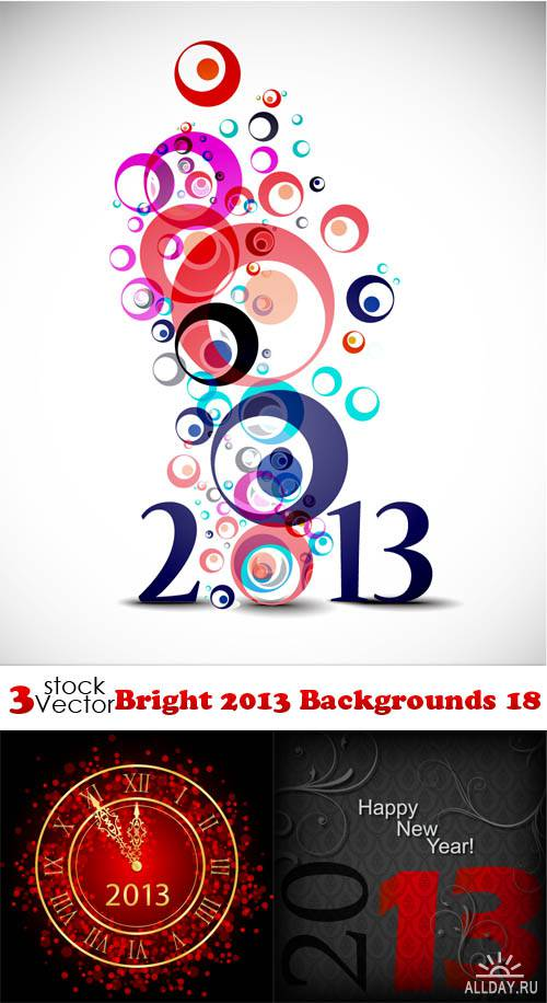 Vectors - Bright 2013 Backgrounds 18