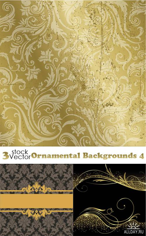 Vectors - Ornamental Backgrounds 4