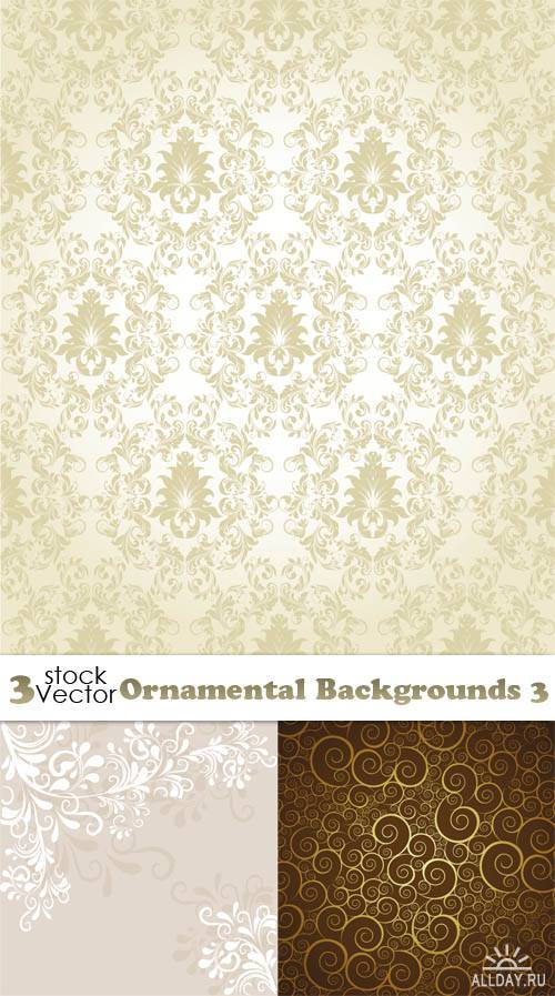 Vectors - Ornamental Backgrounds 3