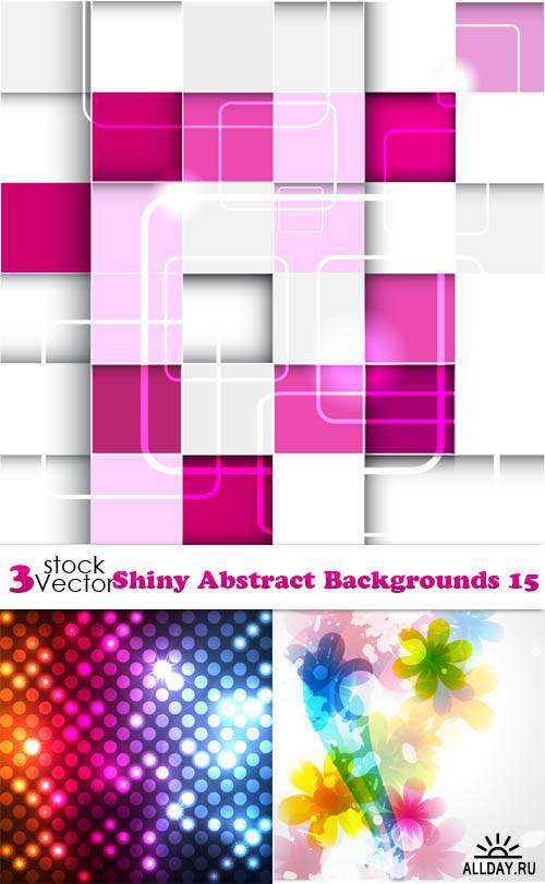 Vectors - Shiny Abstract Backgrounds 15
