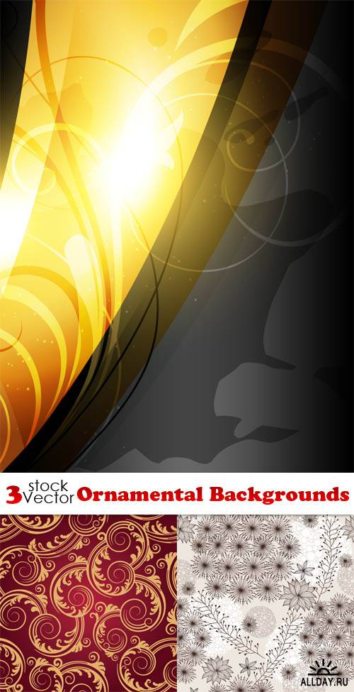 Vectors - Ornamental Backgrounds