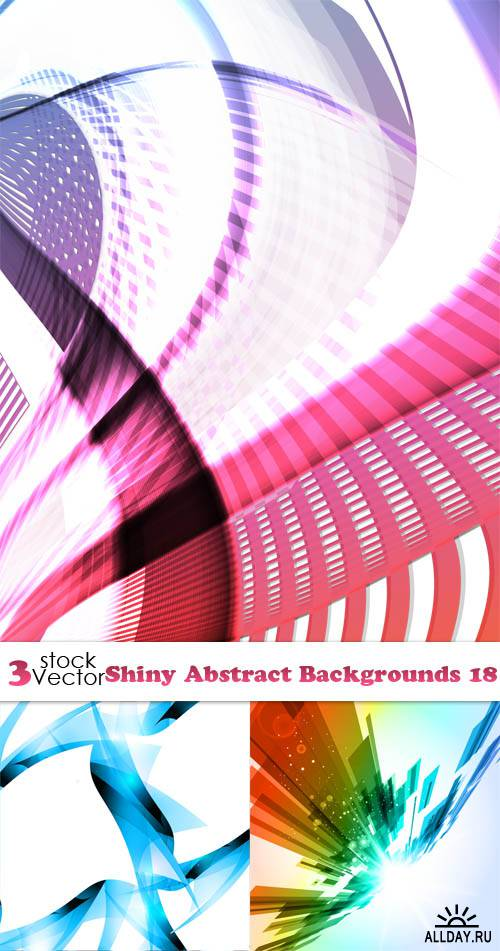 Vectors - Shiny Abstract Backgrounds 18
